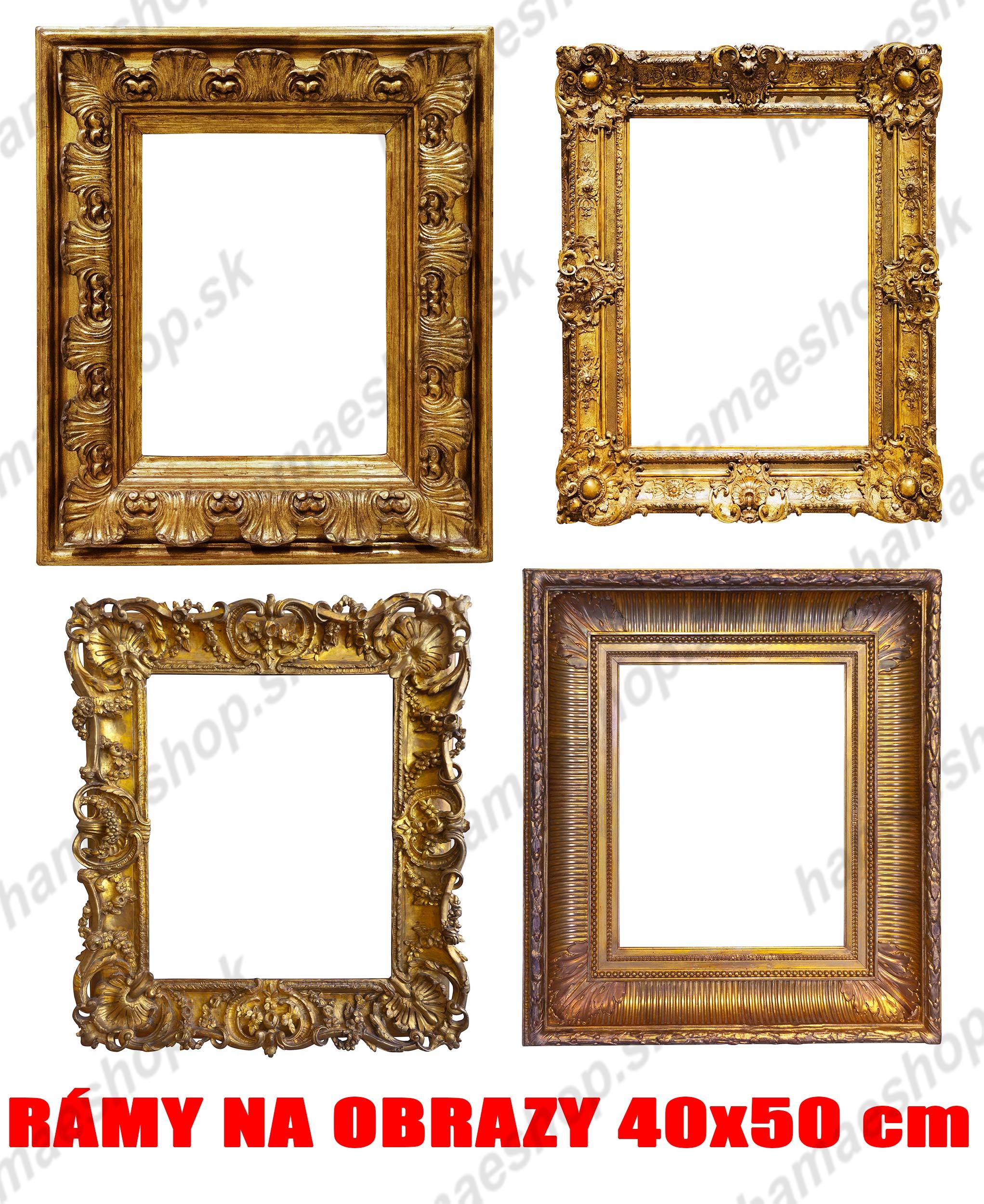 26cdfc97d Rámy na obrazy 40x50 cm online predaj eshop