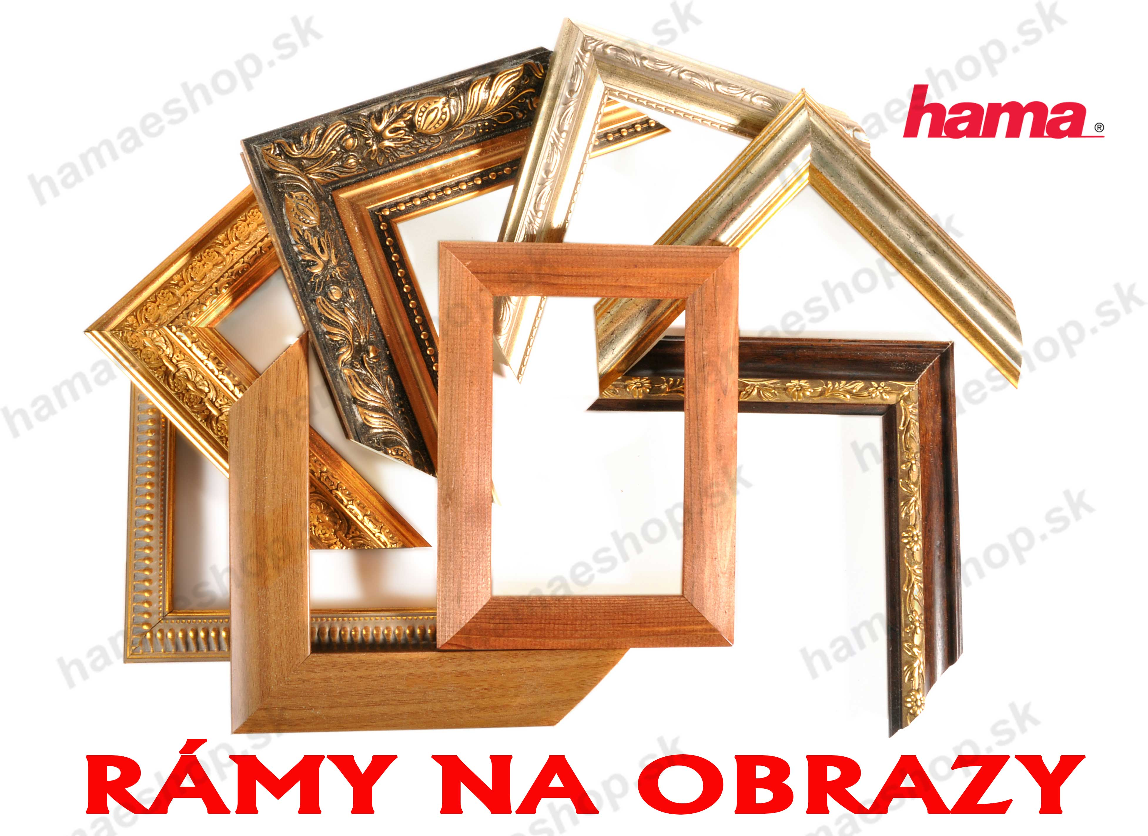 5cd2a670f Rámy na obrazy | HamaEshop.sk