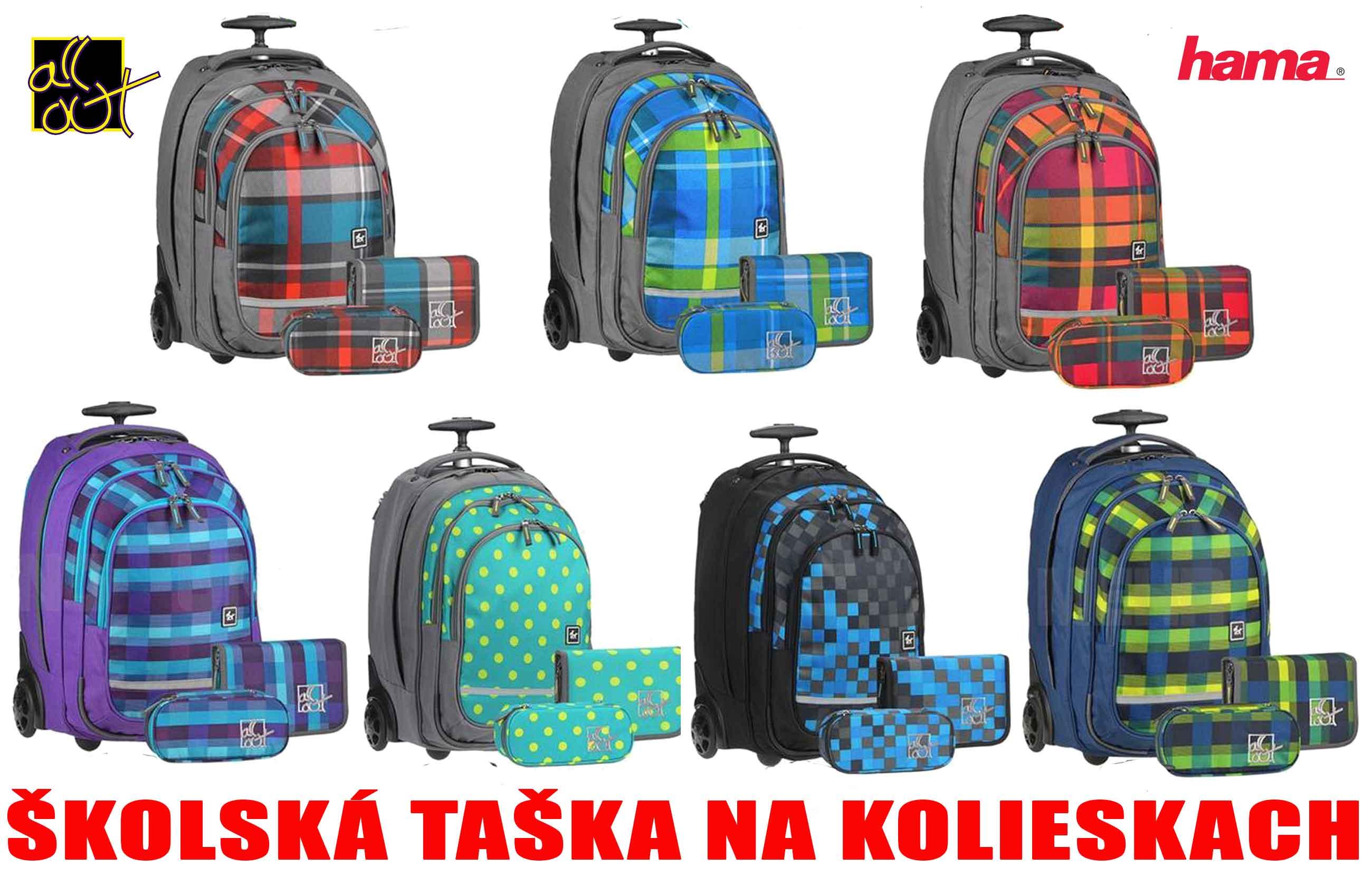 459f198469 Školské tašky na kolieskach
