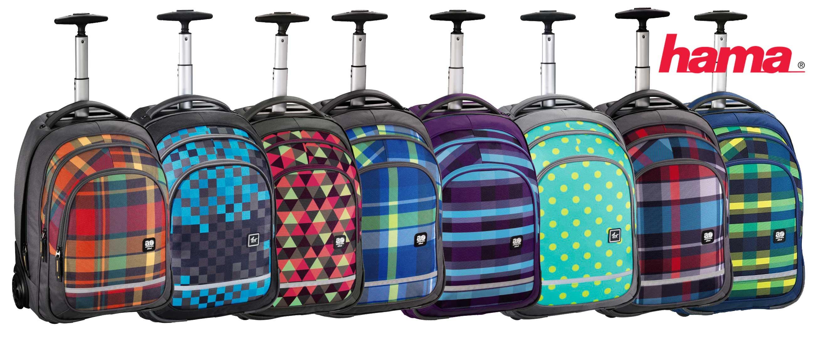c3b57aaf1c Školské tašky na kolieskach HAMA
