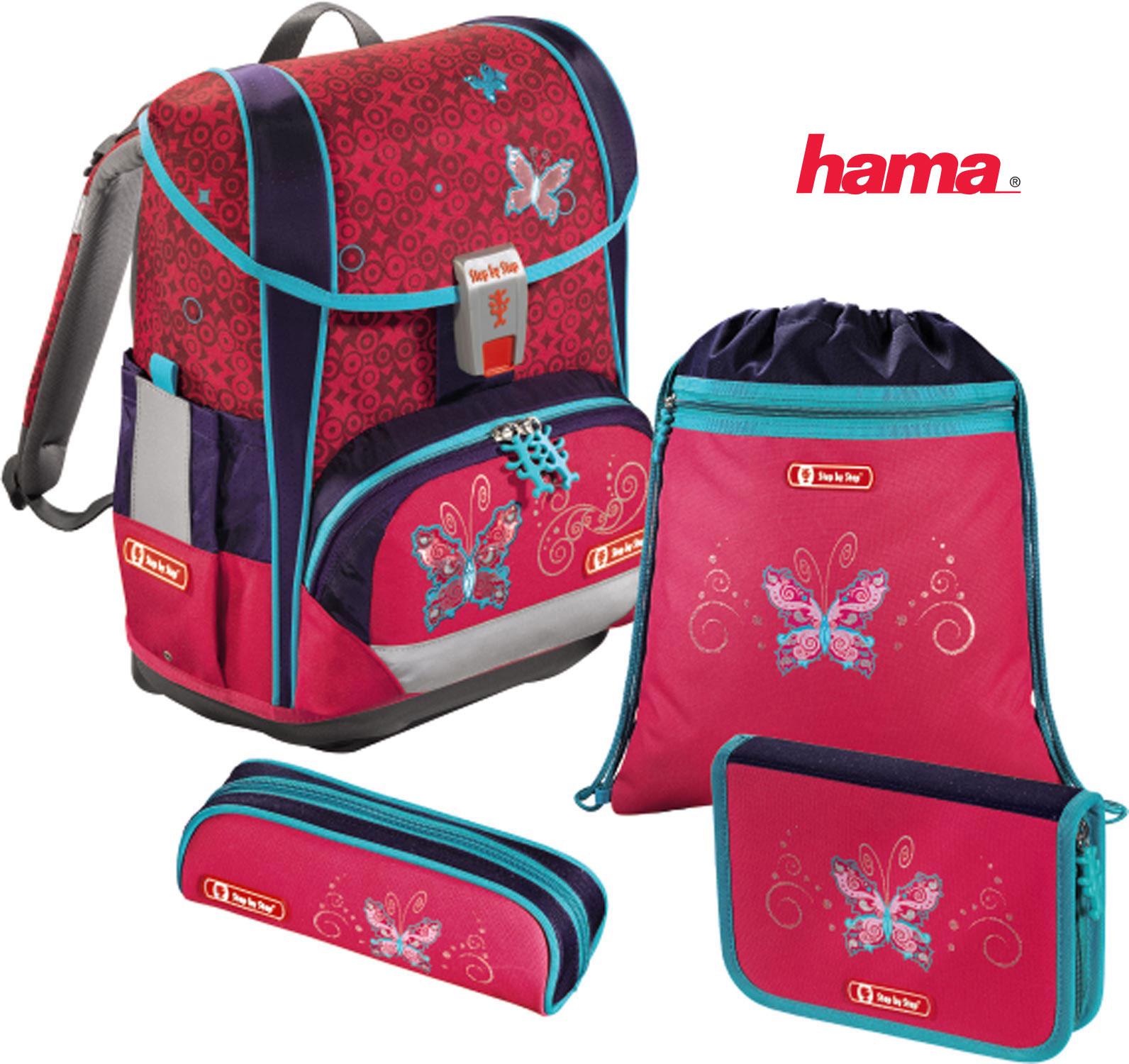 c839f871a0d2c Školská taška Motýľ Light 2 5-dielny set predaj