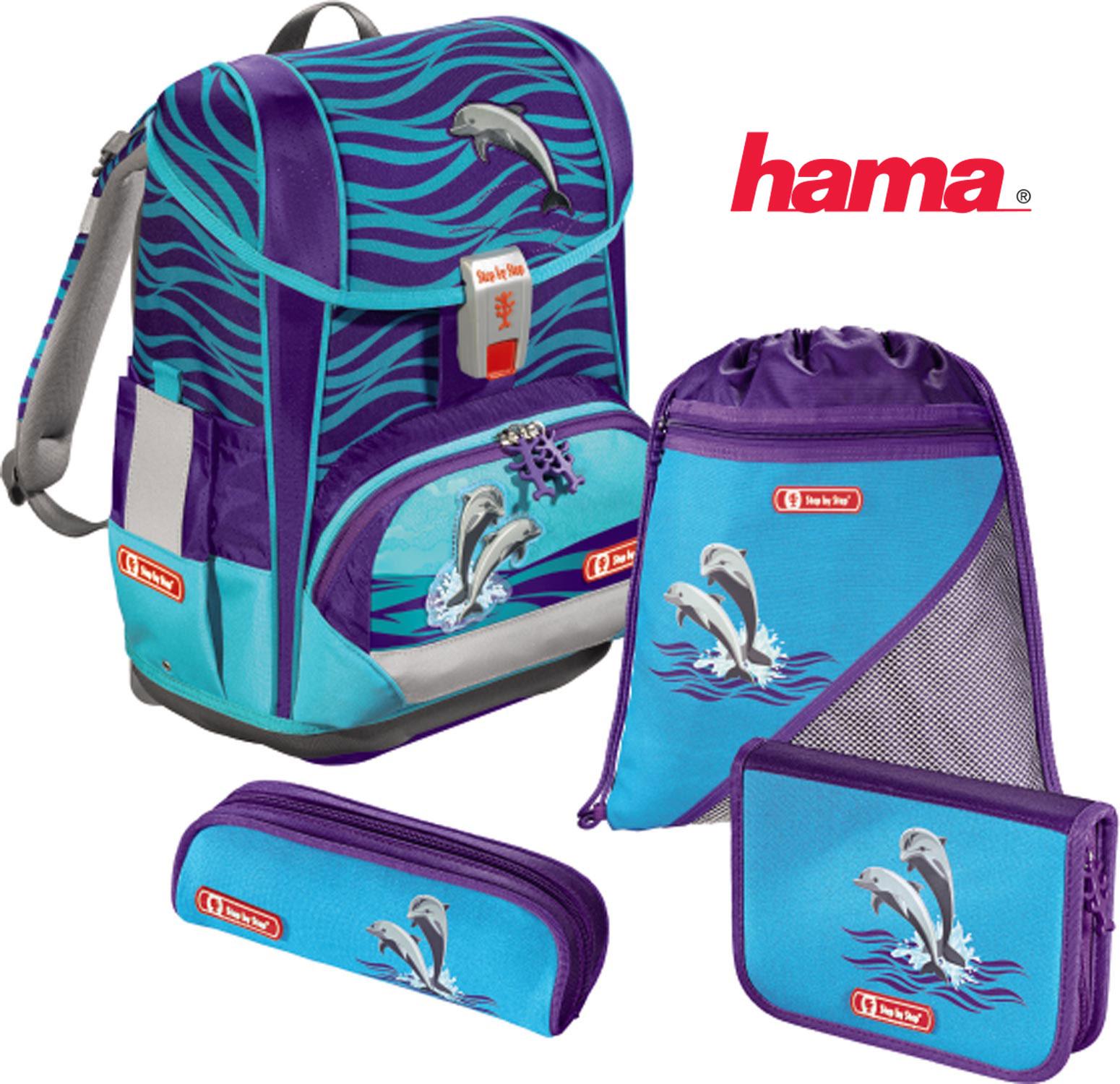 d604781fac Školská taška Delfíny Light 2 5-dielny set certifikát AGR