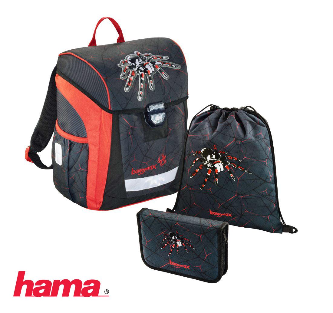 7d7d1ac19a Školská taška pre prváka Trikky Pavúk 3-dielny set predaj