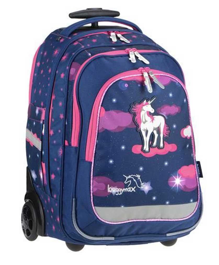 605adce1f1 Školská taška na kolieskach Jednorožec predaj