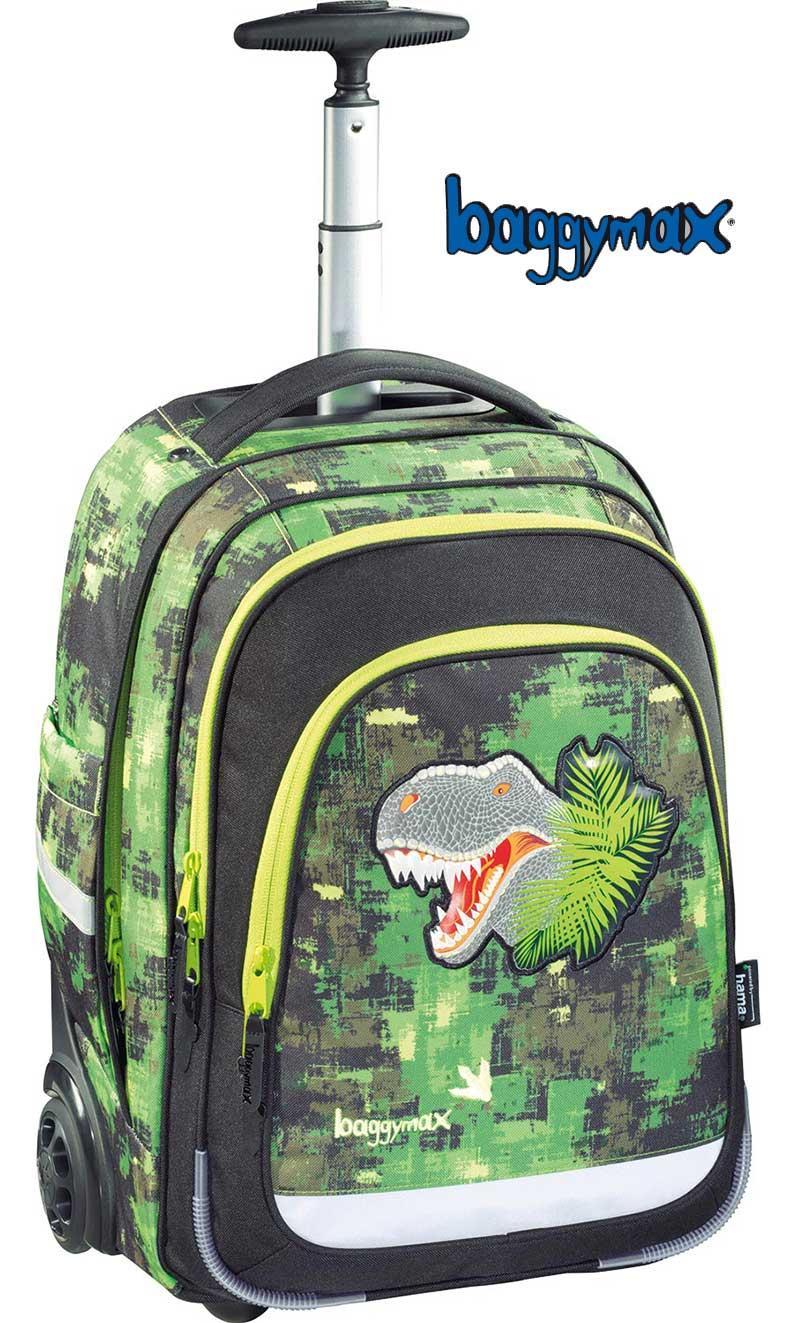 4654f0cbc6 Školská taška na kolieskach Dinosaurus predaj