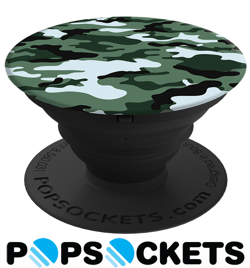 PopSockets Dark Green Camo