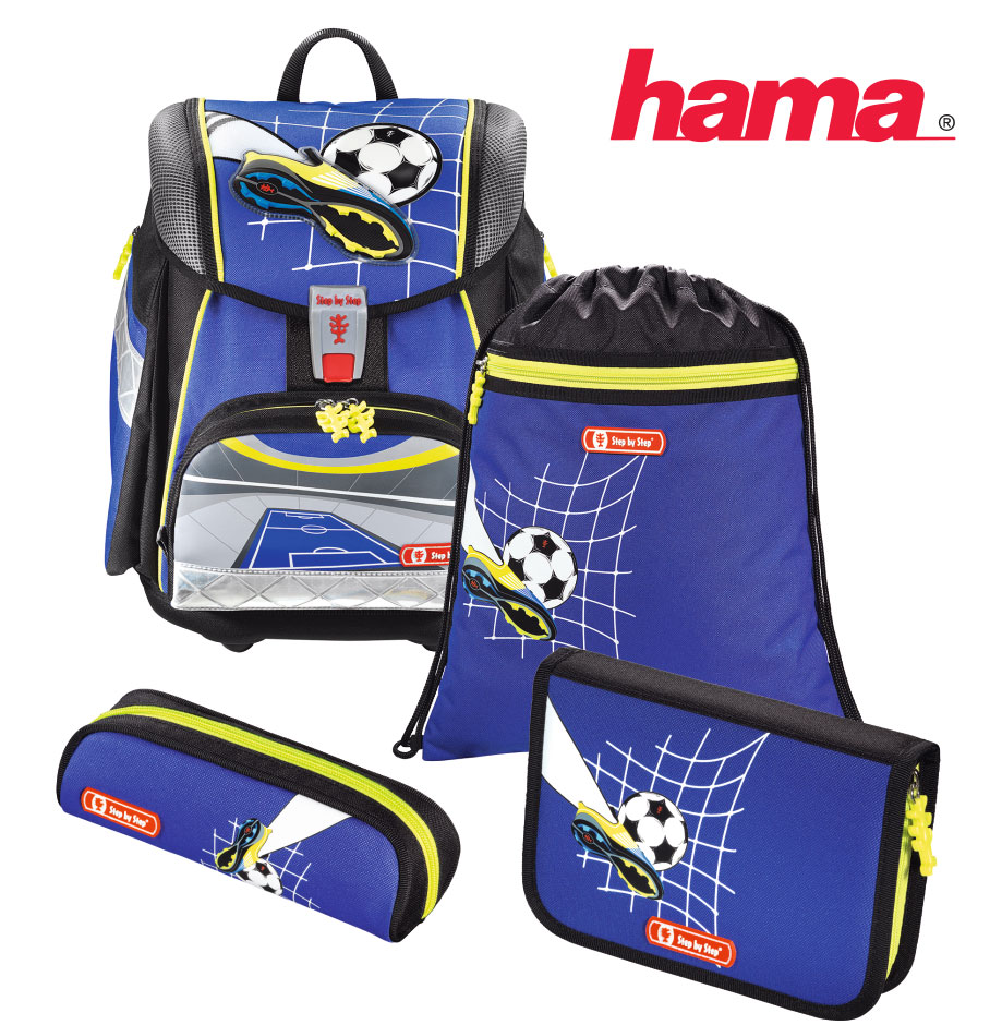 c93f4b1dac Školská taška Fotbal Step by Step TOUCH2 5- set l HamaEshop.SK