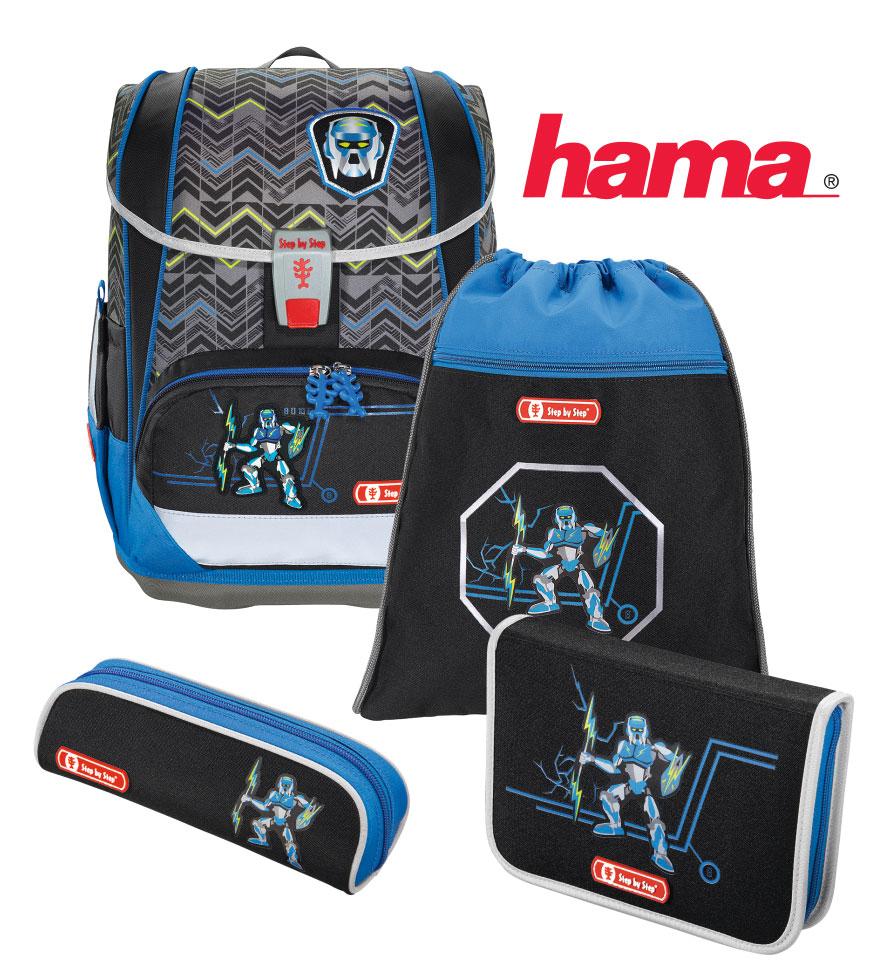 4e41d313579a4 Školská taška Robot Light 2 7-dielny l HamaEshop.SK