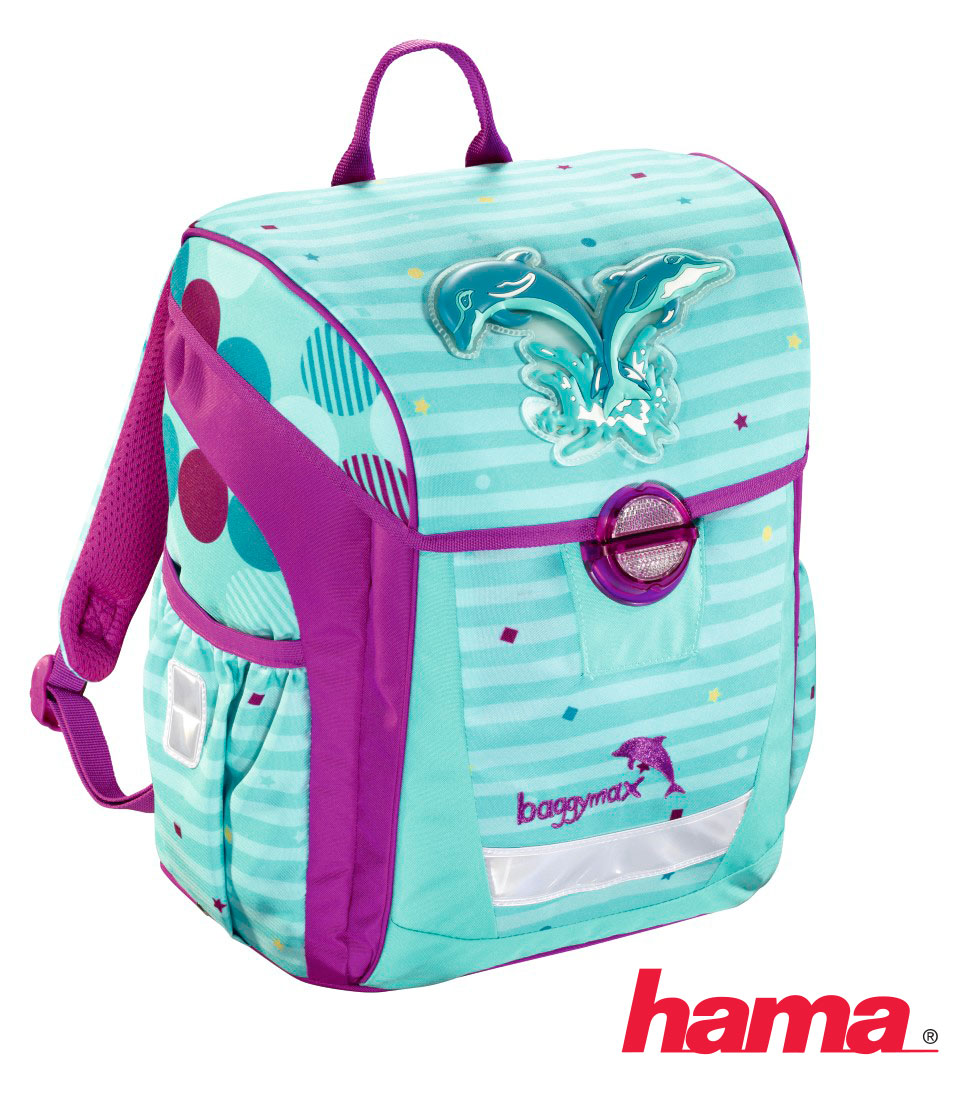 50c8cbda0a Školská taška pre prváka Trikky Delfíny 3-dielny set predaj