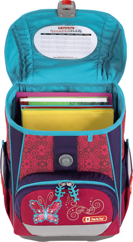 6606404e97fe8 Popis. Školská taška Motýľ Light 2 5-dielny set - Step ...