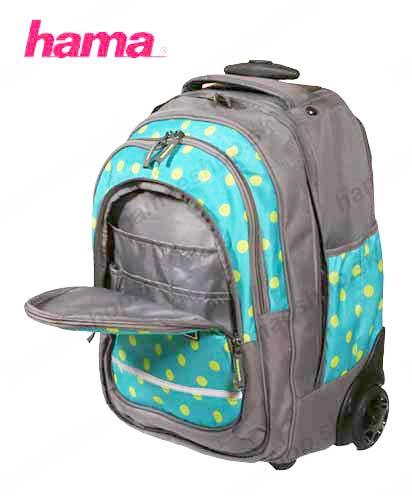 3564c741b5467 Školská taška na kolieskach Mint Dots predaj