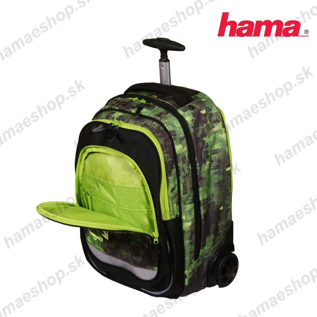 b506ba1f3c317 Školská taška na kolieskach Dinosaurus predaj