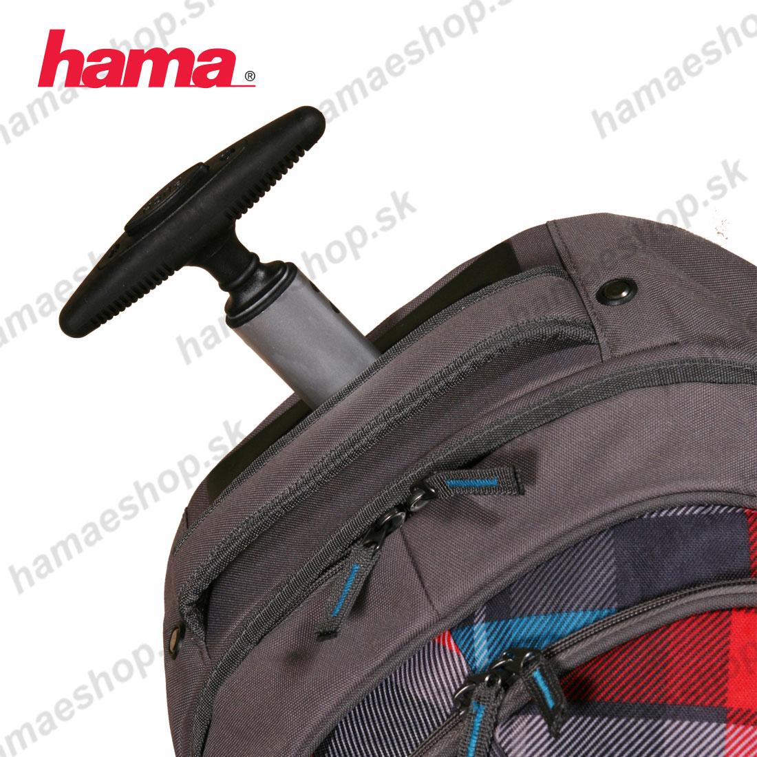 353cc2531b986 Školská taška na kolieskach s peračníkom Summer Check Green predaj