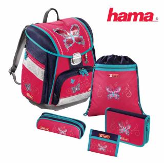 d16600861d Školská taška Butterfly Dancer 7-dielny set empty