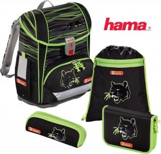 f34e69b838 Školská taška Čierny panter Light 2 5-dielny set certifikát AGR empty