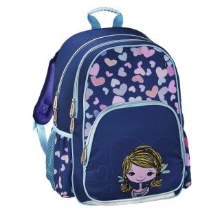 3e127feb18 Školský ruksak pre prváčikov Dievčatko empty