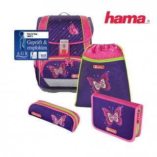 011e53e695 Školská taška Lesklý motýľ Light 2 5-dielny set certifikát AGR empty